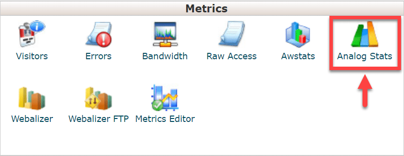 analog stats
