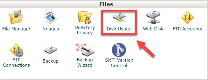 cpanel_disk_usage