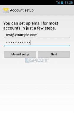 android account login