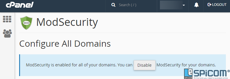cpanel-modsecurity